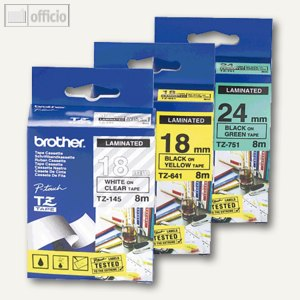 Artikelbild: Schriftbandkassetten für TZ 3.5 und 6 mm