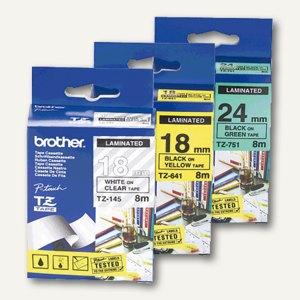 Artikelbild: Schriftbandkassetten für TZ 12 mm