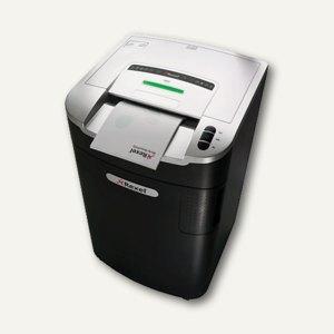 Rexel Aktenvernichter RLX20, schwarz/silber, Partikel 4 x 40 mm, 2102446
