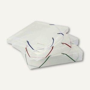 Artikelbild: Sammelboxen Kristall DIN A4 mit Eckspannverschluss