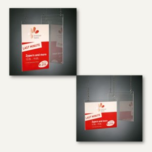 Artikelbild: Plakattaschen zum Aufhängen