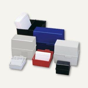 Artikelbild: Karteiboxen aus Kunststoff