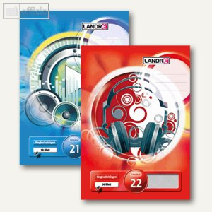 Artikelbild: Landre Ringbucheinlagen DIN A4 - A5