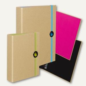 Artikelbild: Ringbücher NATURE PINK - BLACK - GREEN - PACIFIC