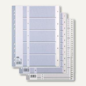 Artikelbild: Kunststoff-Register Zahlen