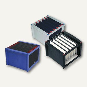 Helit Hängeregistratur-Gestell DIN A4, grau/blau, 260x360x380mm, H6110084