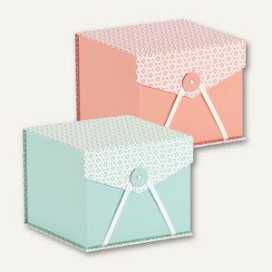 Artikelbild: Box mit Klappdeckel DREAM JADE / SALMON