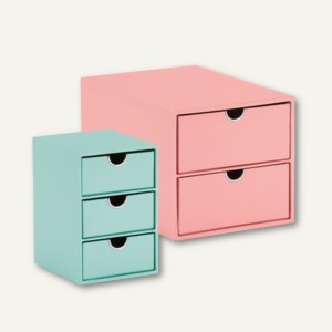 Artikelbild: Schubladenboxen GARDEN - MINT / LOBSTER