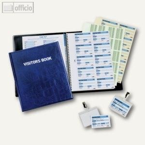 Artikelbild: Besucherbücher Visitors Book 100 in Lederoptik und Nachfüllsatz