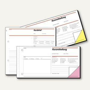 Artikelbild: Formular - Kurzmitteilung oder Kurzbrief - auch als Begleitbrief zu Warensendungen