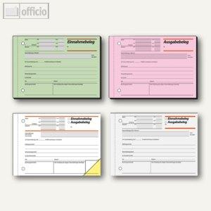 Artikelbild: Formular Ausgabe-/ oder Einnahmebelege