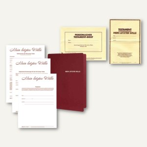 Artikelbild: Testament-Briefe & -Mappen
