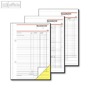 Artikelbild: Formular Kassenberichte DIN A5