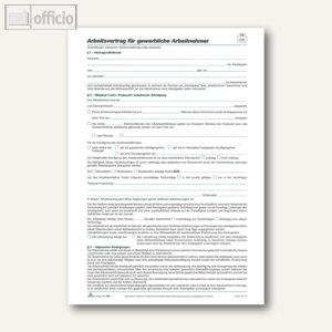 Artikelbild: Arbeitsverträge gewerblich