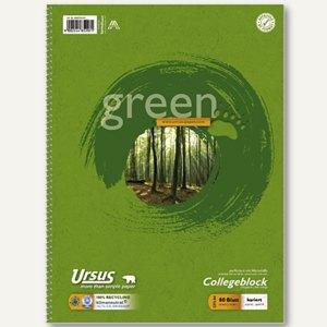 Artikelbild: Collegeblöcke Green DIN A4