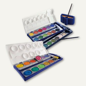 Artikelbild: Deckfarbenkästen - 12 oder 24 Farben