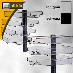 Artikelbild: Schwenkflügler mit 3 oder 4 Schalen lichtgrau oder schwarz