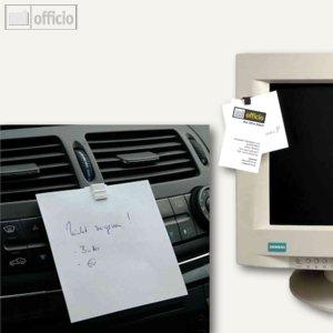 Artikelbild: Kunststoff-Notizhalter CLIP TAB