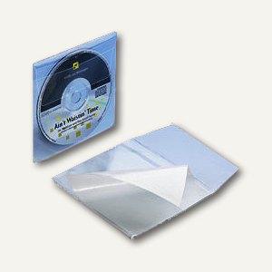 Artikelbild: CD Kunststofftasche PP selbstklebend mit Klappe