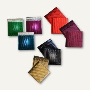 Artikelbild: CD/DVD-Luftpolstertaschen Metallic 160 x 165 mm