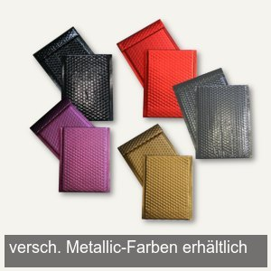 Artikelbild: Geschenk-LuftpolstertaschenMetallic 170 x 245 mm