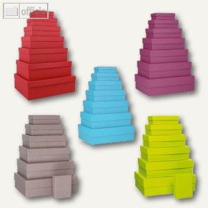 Artikelbild: S.O.H.O. Aufbewahrungs-/Geschenkboxen - Farbige Sets