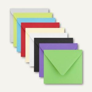 Artikelbild: Farbige Briefumschläge 125 x 140 mm nassklebend ohne Fenster 500er-Packs