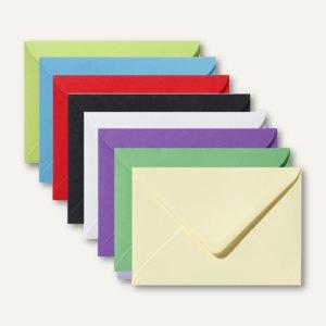 Artikelbild: Farbige Briefumschläge 130 x 180 mm nassklebend ohne Fenster 500er-Packs
