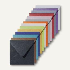 Artikelbild: Farbige Briefumschläge Metallic