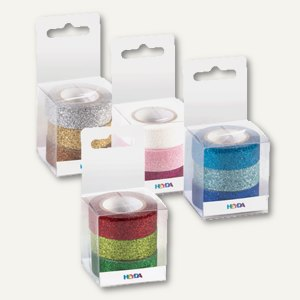 Artikelbild: Deko-Klebebänder Glitter Tapes