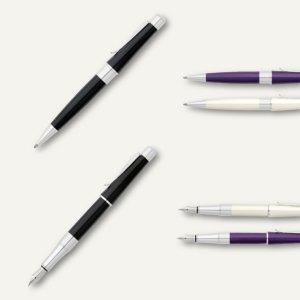 Artikelbild: Schreibgeräteserie BEVERLY / Füllhalter + Kugelschreiber + Rollerballs
