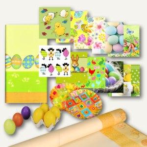 Artikelbild: Motiv-Teller/Tischdecken/Servietten/Kerzen Ostern