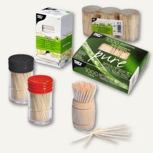 Artikelbild: Zahnstocher aus Kunststoff oder Holz