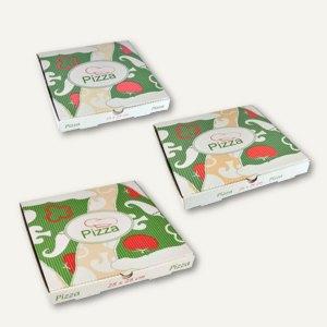 Artikelbild: Pizzakartons Italienische Flagge