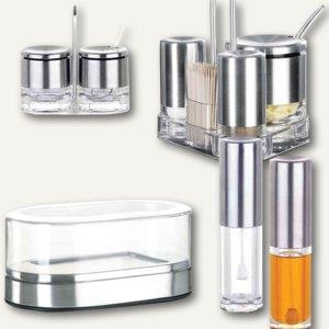 Artikelbild: Tischserie ACCENTA - Essig&Öl / Pfeffer&Salz / Sahne&Zucker