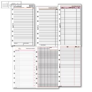 Artikelbild: Kalendereinlagen und Zubehör für DIN A6 Planer
