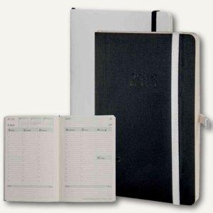 Artikelbild: Chronobook Taschenkalender Black & White