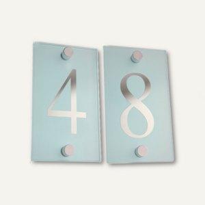 Artikelbild: My Home Hausnummern aus satiniertem Glas