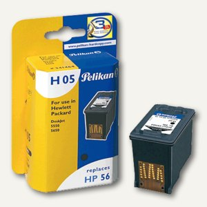 Pelikan Tintenpatrone kompatibel zu HP C6656AE, schwarz, 19 ml, 341464