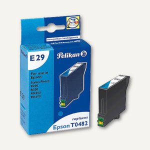 Pelikan Ink-Jet-Patrone E29, cyan, kompatibel zu T048240, 13 ml, 343895