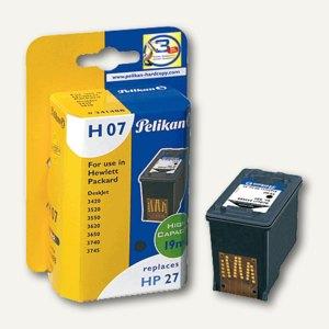 Tintenpatrone H07 für HP C8727A schwarz