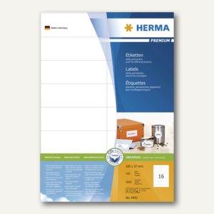 Artikelbild: Etiketten für alle Drucker - 105 x 37 mm