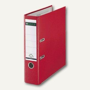 LEITZ Kunststoffordner 180°, Rückenbreite 80 mm, PP, rot, 1010-50-25