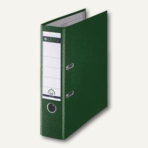 LEITZ Kunststoffordner 180°, Rückenbreite 80 mm, PP, grün, 1010-50-55
