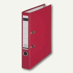 LEITZ Kunststoffordner 180°, Rückenbreite 52 mm, rot, PP, 10155025