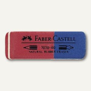 Faber-Castell Radiergummi 7070-40, 50 x 18 x 8 mm, 187040