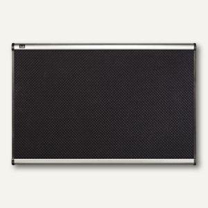 """Quartet Schaumstoff-Pinwand """"Prestige"""", (B)900 x (H)600 mm, schwarz, QBPF9060"""