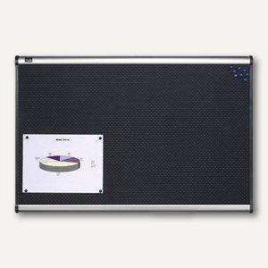 """Quartet Schaumstoff-Pinwand """"Prestige"""", (B)1.200 x (H)900 mm, schwarz, QBPF1290"""