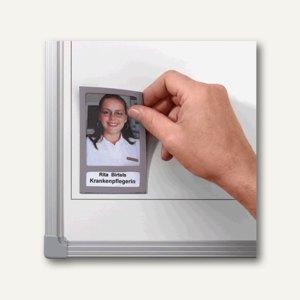 Franken Fototaschen, magnethaftend, 72 x 115 mm, grau, 5 Stück, FTK12/5