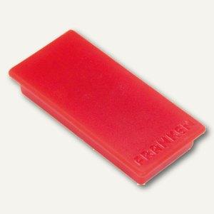 Franken Rechteckmagnet, Haftmagnet, 23 x 50mm, rot, HM2350 01